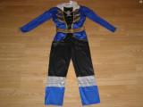 Costum carnaval serbare power rangers ninja pentru copii de 4-5-6 ani