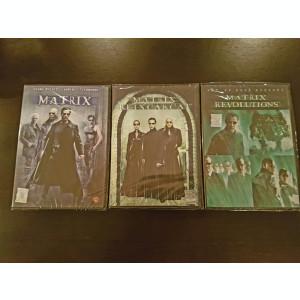 Filme Matrix 1-3 DVD Colectia Completa