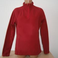 Bluzon sport de dama tip polar, Quechuo, mar M, in stare foarte buna!