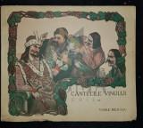 MILITARU VASILE - CANTECELE VINULUI, 1938, Bucuresti (Editie Princeps !)