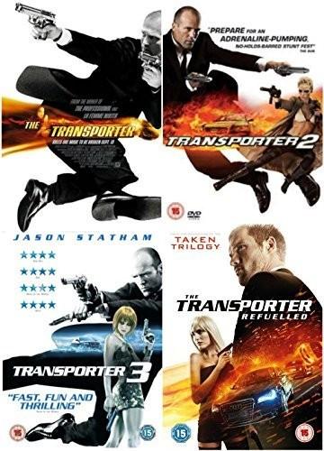 Filme Transporter / Curierul 1-4 DVD Complete Collection