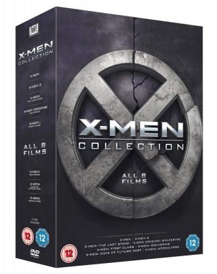 Filme X -Men 1-8 DVD Box Set Complete Collection foto