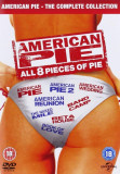 Filme Comedie American Pie DVD Box Set Complete Collection