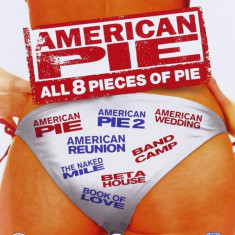 Filme Comedie American Pie DVD Box Set Complete Collection, Engleza, productii independente