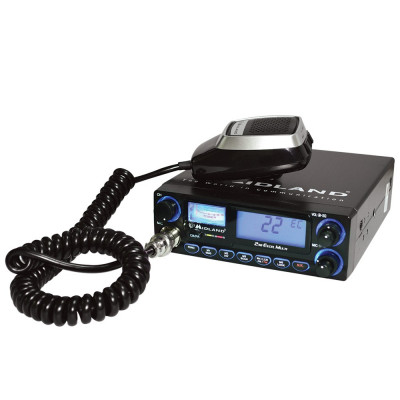 Resigilat : Statie radio CB Midland 248 XL Cod C892 cu 2 filtre de zgomot foto