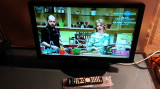 TV LCD 22 INCH FULL HD + DVD PLAYER DIKOM + TELECOMANDA, 56 cm