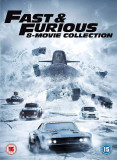 Filme Fast & Furious / Furios si Iute 1-8 DVD Complete Collection, Engleza, independent productions