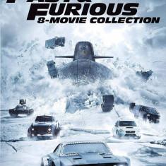 Filme Fast & Furious / Furios si Iute 1-8 DVD Complete Collection
