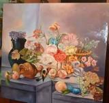 Pictura in ulei pe panza, Natura statica, Realism