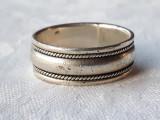 INEL argint INDIA ARVI etnic TRIBAL model VERIGHETA de efect VINTAGE superb