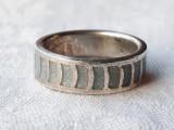 INEL argint DELICAT vintage VECHI de efect SPLENDID manopera DEOSEBITA