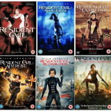 Filme Resident Evil 1-6 DVD Complete Collection, Engleza, independent productions
