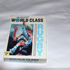 [CBM64] World Class Rugby - joc original Commodore64, Simulatoare