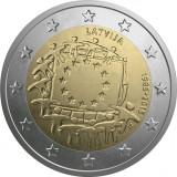 SV * Letonia  2  EURO  2015       AUNC+ / UNC, Europa, Nichel