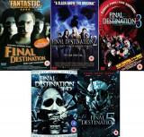 Filme Horror Final Destination 1-5 DVD Box Set Complete Collection