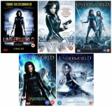 Filme Underworld 1-5 DVD Complete Collection, Engleza, independent productions