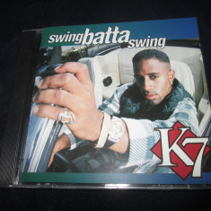 K7 - Swing Batta Swing _ CD,album _ Eastwest ( Germania , 1993 )