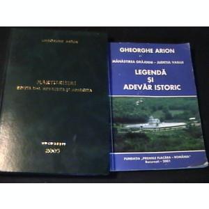 GHEORGHE ARION-MARTURISIRI+MANASTIREA GRAJDENI-JUD. VASLUI-