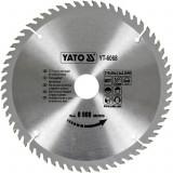 Disc fierastrau wolfram pentru lemn 210 mm x 60T YATO