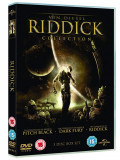 Filme [Pitch Black/The Chronicles Of Riddick: Dark Fury/ [DVD Box Set]