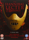 Filme Horror The Hannibal Lecter Trilogy [DVD] Box Set Complete Collection