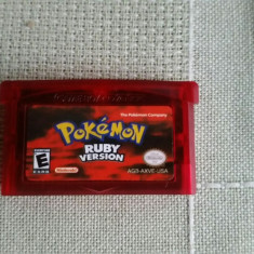 Vand jocuri gameboy advance , POKEMON RUBY VERSION