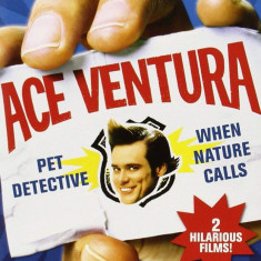 Filme Comedie Ace Ventura : Pet Detective /  When Nature Calls [DVD] Box Set