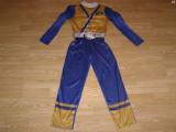 Costum carnaval serbare power rangers ninja pentru copii de 7-8 ani