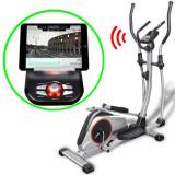 Bicicletă eliptică programabilă XL masă mișcare 18 kg Smart App