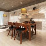 Scaune de bucătărie 4 buc, cadru din lemn, maro