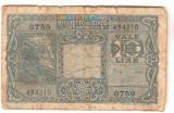 SV * Italia  10  LIRE  1938 / 1944     sub ocupatie Germania fascista    WWII