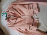 Jacheta imitatie de piele, Roz