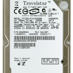hdd hard disk laptop HGST Travelstar 5K160 HTS541616J9SA00 Hitachi 160 GB  sata