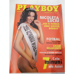 Revista Playboy 2000 dec.