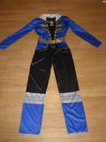 Costum carnaval serbare power rangers ninja pentru copii de 10-11-12 ani, 10-11 ani