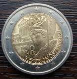 (M2018) MONEDA AUSTRIA - 2 EURO 2018, 100 ANI DE LA INFIINTAREA REPUBLICII