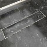 Scurgere duș liniară din oțel inoxidabil 530x140 mm