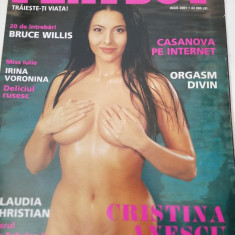 Revista Playboy 2001 iulie
