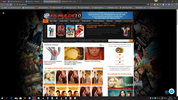 Vand Site de Filme si Seriale Online - Filmulde10.net + Domeniu valabil pe 2 ani