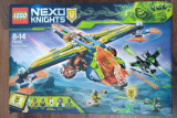 Lego Nexo Knights 72005 X Arcul lui Aaron - Original, nou, sigilat