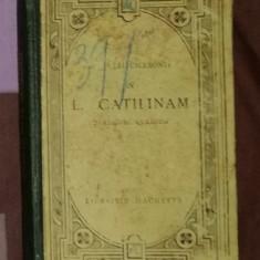 In Catilinam Orationes Quatuor - CICERO text latin comentat