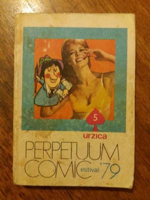 Perpetuum comic 1979 Urzica / R3P2S foto