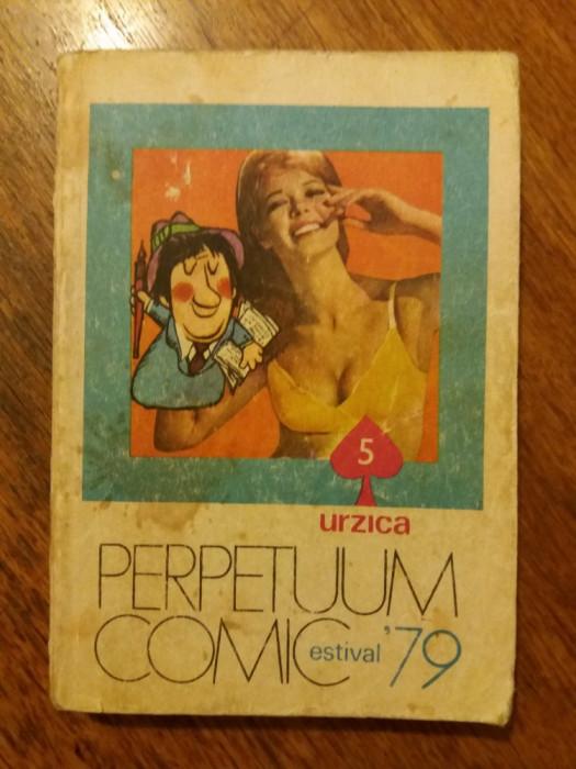 Perpetuum comic 1979 Urzica / R3P2S