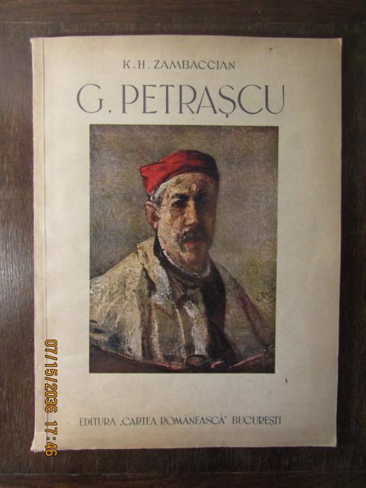 G.PETRASCU -K.ZAMBACCIAN, 1945