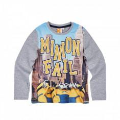 Tricou cu maneca lunga Minions , Minioni , Despicable Me, 10-11 ani, 5-6 ani, 7-8 ani, 9-10 ani, Multicolor, Unisex