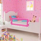 Apărătoare de pat pentru copii mici, 102 x 42 cm, roz