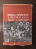 REPERTORIUL MONUMENTELOR SI OBIECTELOR DE ARTA DIN TIMPUL LUI STEFAN CEL MARE