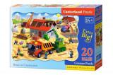Puzzle maxi Casa in constructie, 20 piese, castorland