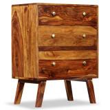 Dulap lateral, lemn masiv de sheesham, 60 x 35 x 76 cm