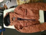 Geaca de iarnă pentru bărbați, XS/S, Maro